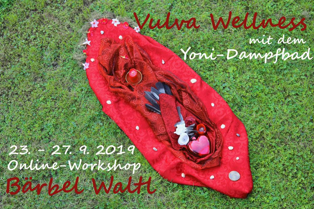 Anmeldung zum Online-Workshop Vulva Wellness